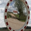 Stock Photo: Small House in the Mirror