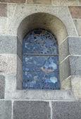 Leaded Church Window — Zdjęcie stockowe