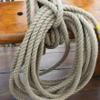 Ropes on Sailing Ship — Stock Photo #9116018