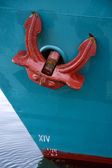 Red Anchor — Stock Photo