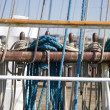 Ropes on Sailing Ship — Stock Photo #9123347
