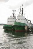 Tug Boats in Port — Stock Photo
