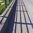 Shadows on Small Bridge — Stock Photo #9138320
