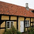 Stock Photo: Small Half-Timbered House