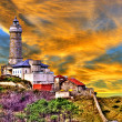 Stock Photo: Lighthouse Santander Spain