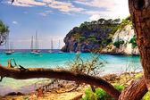 Menorca Beach — Stock Photo