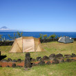 Camping site with tents — Stock Photo #8695581