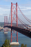 Bridge with traffic — Stock Photo