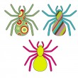 Spiders — Stock Vector #8627839