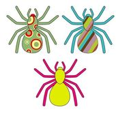 Spiders — Vector de stock