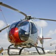 Three Spanish Eurocopters - Stock Photo
