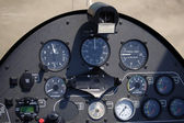 Autogyro cockpit — Stock Photo