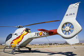 Three Spanish Eurocopters — Stock Photo