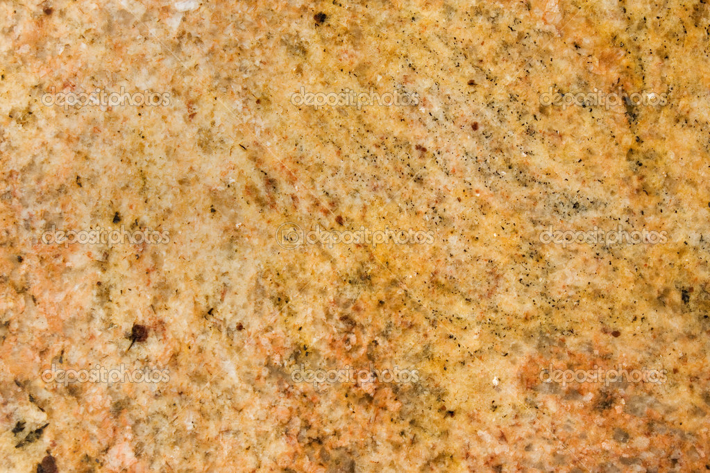 Kashmir Gold Granite Flecked With White Speckles Stock Photo