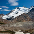 Slow melt of a glacier — Stock Photo