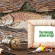 Memorie of fishing trip — Stock Photo #9708136
