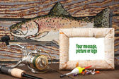 Memorie of the fishing trip — Stock Photo