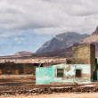 Fishermans hut in Cape Verde — Stock Photo