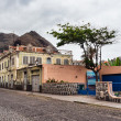 Ribeira grande, a small village in Cape verde — Stock Photo