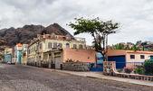 Ribeira grande, a small village in Cape verde — Stock Photo