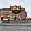 Caritas Well at Gammel Torv, Copenhagen — Stock Photo