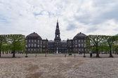 Danish Parliament Christiansborg, Copenhagen — Stock Photo