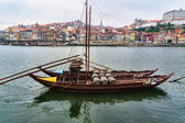 Panorama of Duoro River, Porto — Stock Photo