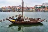 Panorama of Duoro River, Porto — Stock Photo