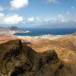 Monte Verde on Sao Vicente, Cape Verde islands — Stock Photo
