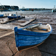 Bork harbour in Denmark — Stock Photo