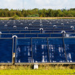 Solar heating plant — Stock Photo