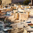 Stock Photo: Fishermens huts in Valletta, Malta