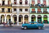 Havana, küba. sokak sahnesi. — Stok fotoğraf