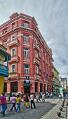 Hotel Ambos Mundos in Havana — Stock Photo