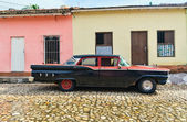 Trinidad, Cuba. View of Trinidad street — Stock Photo