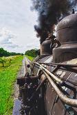 Turist şeker tren, santa clara, cuba — Stok fotoğraf