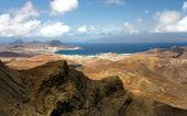 Monte Verde on Sao Vicente, Cape Verde islands — Stock Photo