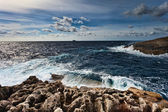 Ouside the Blue Grotto, Malta — Stock Photo