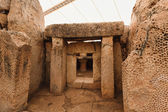 Mnajdra temples on malta — Stock Photo