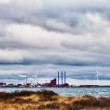 A Danish Harbor, Thyboron — Stock Photo