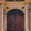 Antique door, Wroclaw, Poland — Stock Photo