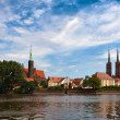 Archicathedral of Wroclaw — Stock Photo