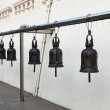 Bells from Golden Mount Temple (Wat Sakate), Bangkok, Thailand — Stockfoto
