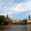 Archicathedral of Wroclaw - ストック写真