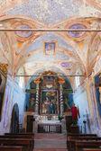 интерьер средневековой церкви на изолы маджоре — Стоковое фото