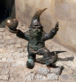 Gnome statue, Wroclaw, Poland — Stock Photo