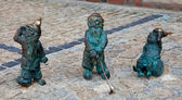 Gnome statue, Wroclaw, Poland — Stock Photo
