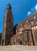 St. Elisabeth's Church, Wrocław — Stock Photo