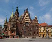 Ratusz, Wrocław, Polska — Zdjęcie stockowe