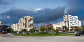 City center of Vlora, Albania — Stock Photo